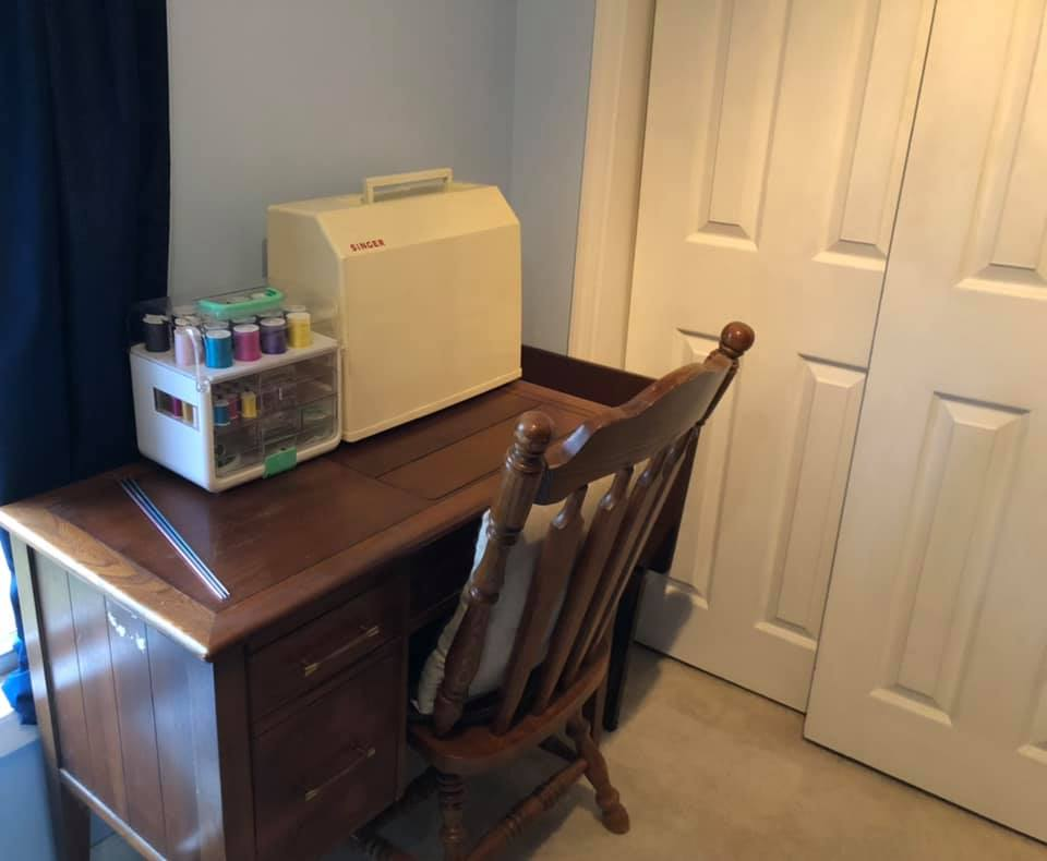 Organized Sewing Station